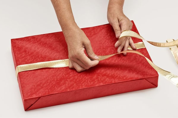 Adding Wrapping Ribbon